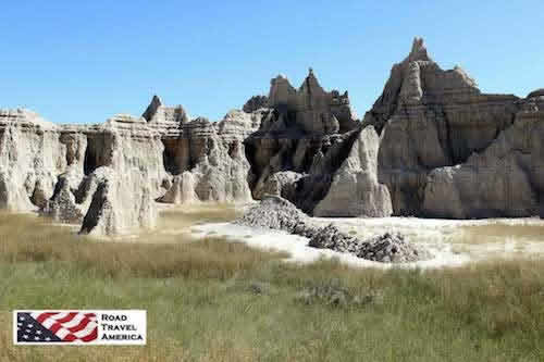 The spectacular landscape of Badlands National Park