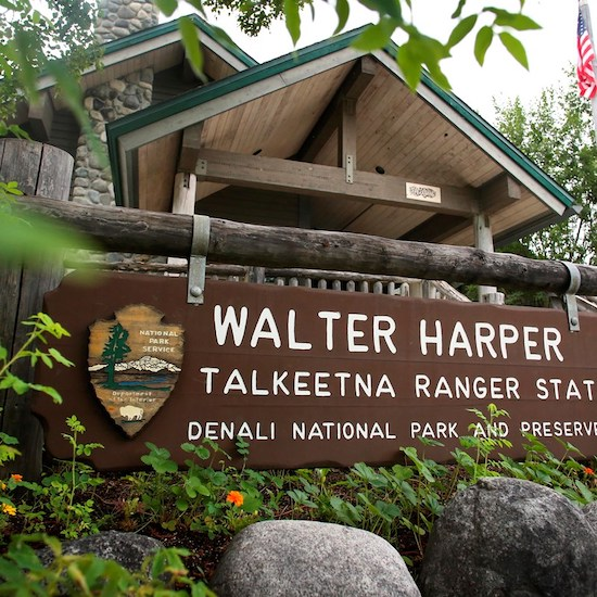 The Walter Harper Talkeetna Ranger Station