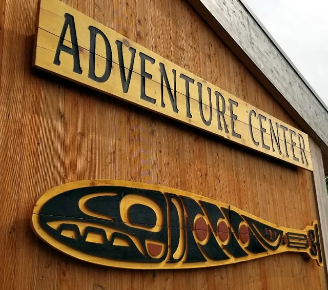 The Adventure Center at Icy Strait Point