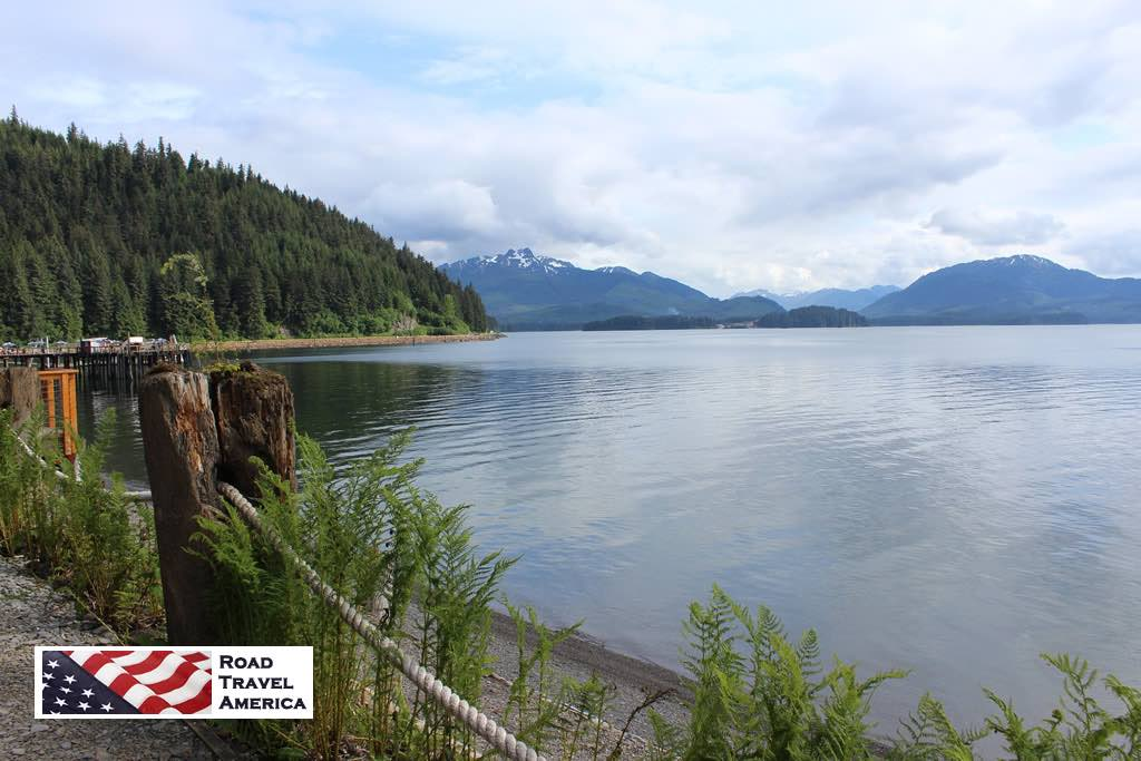 Quiet waters off the pier at Hoonah, Alaska