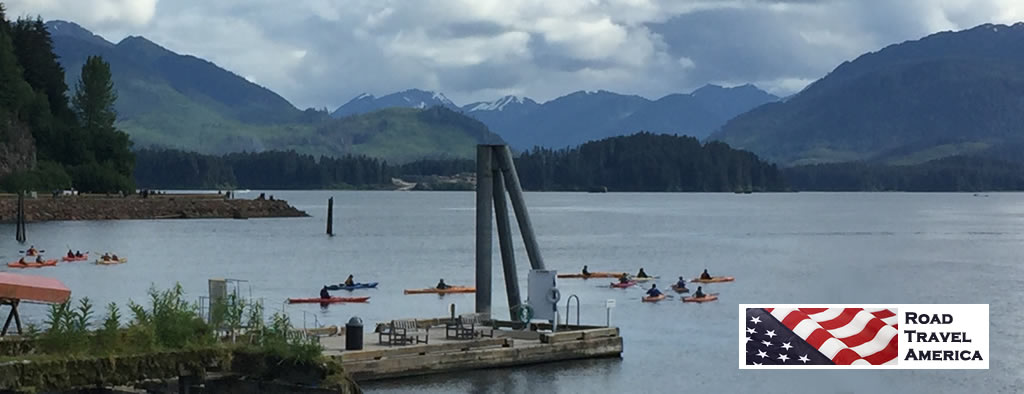 Enjoy a canoe or kayak trip on the lakes around Hoonah
