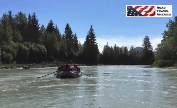 River rafting on the Mendenhall River