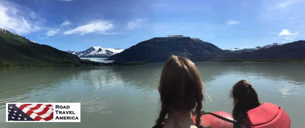 Enjoying a fun day on the Mendenhall River in Alaska