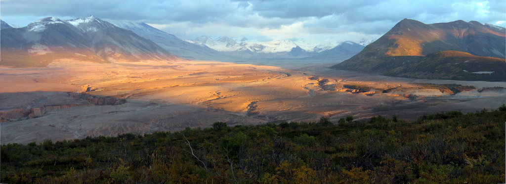 The Valley of Ten Thousand Smokes in Katmai National Park