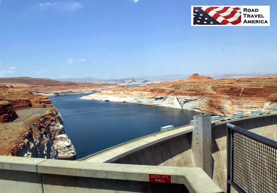 View of Lake Powell from the Carl Hayden Visitor Center