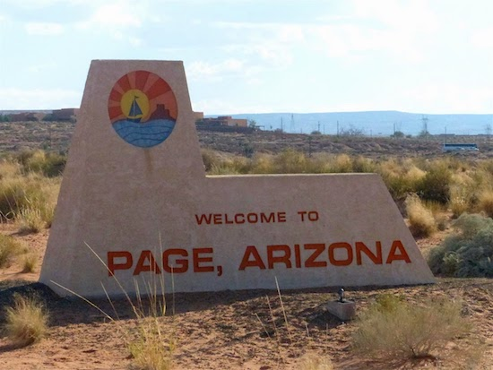 Welcome to Page, Arizona