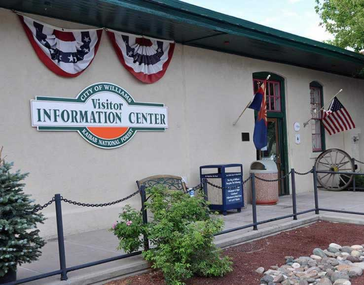 City of Williams, Arizona Visitor Information Center