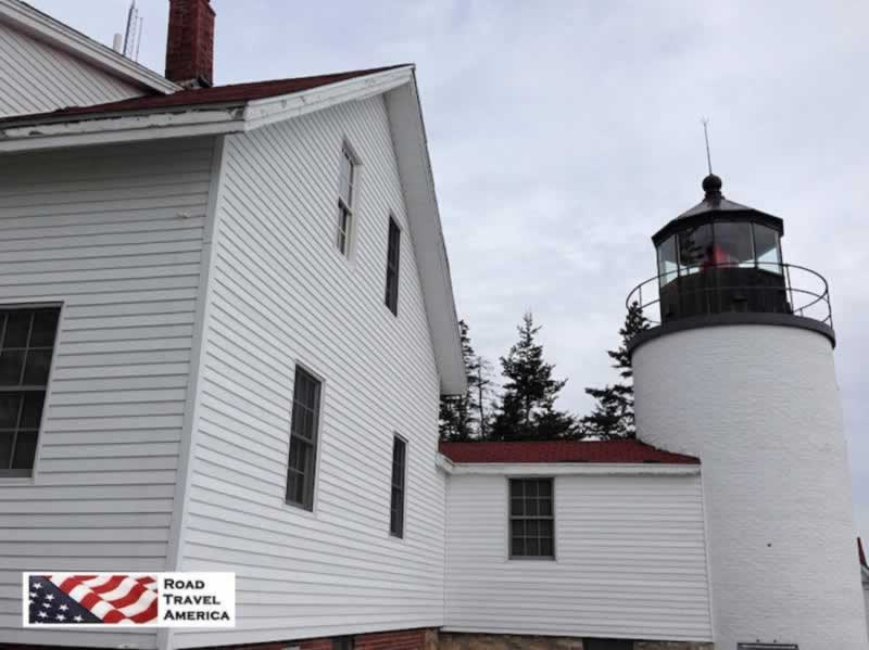 Bass Harbor Light Station in Maine