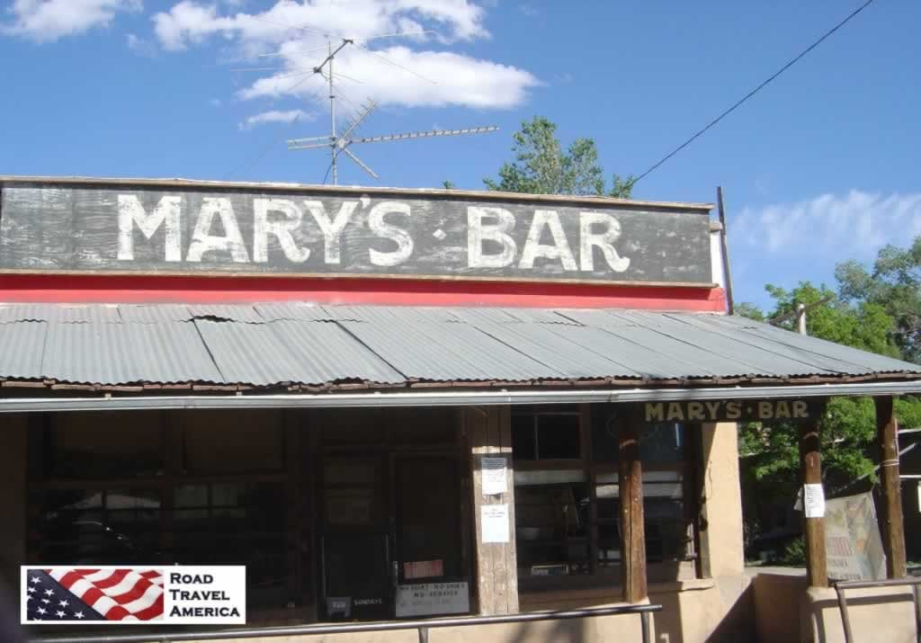 Mary's Bar in Cerillos, New Mexico, on the Turquoise Trail