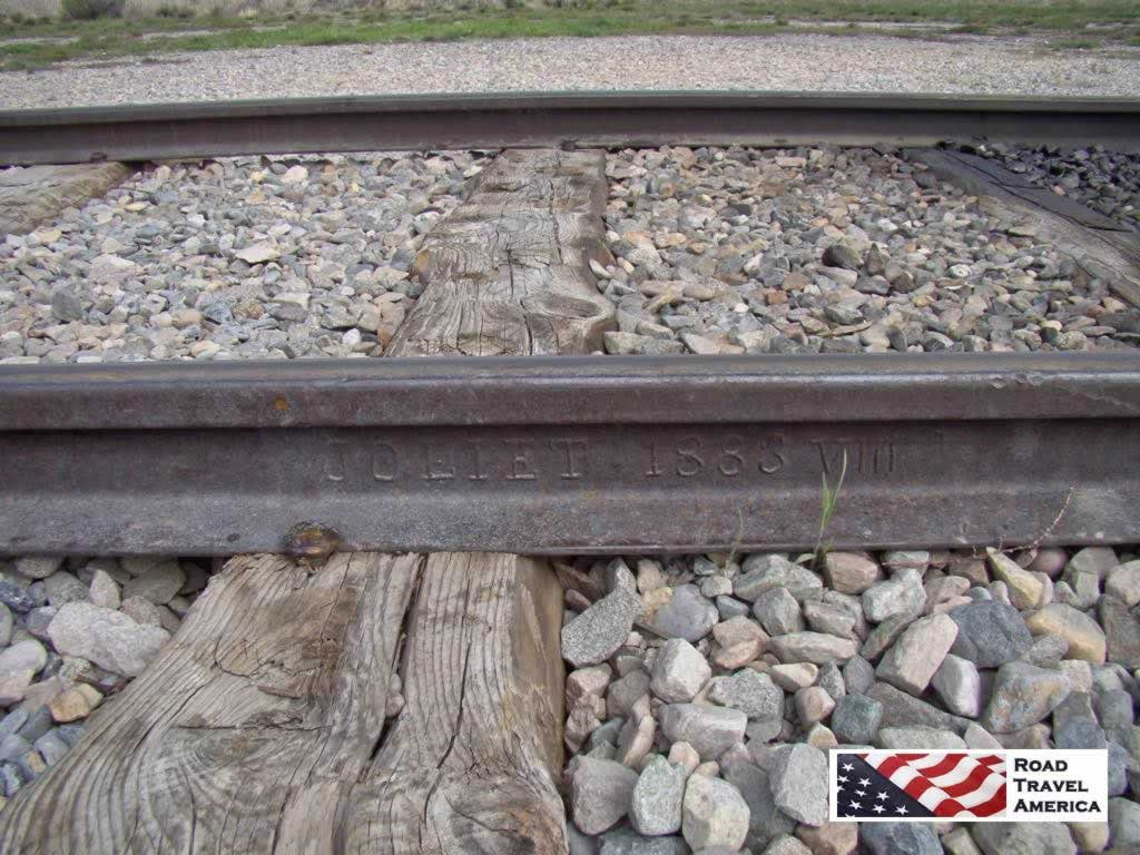 Where the transcontinental railroads met from the east and the west