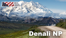 Travel Guide for Denali National Park in Alaska ... things to do, attractions, maps and photographs