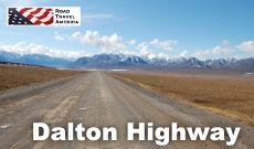 Travel on the James Dalton Highway from Fairbanks to Deadhorse, Alaska